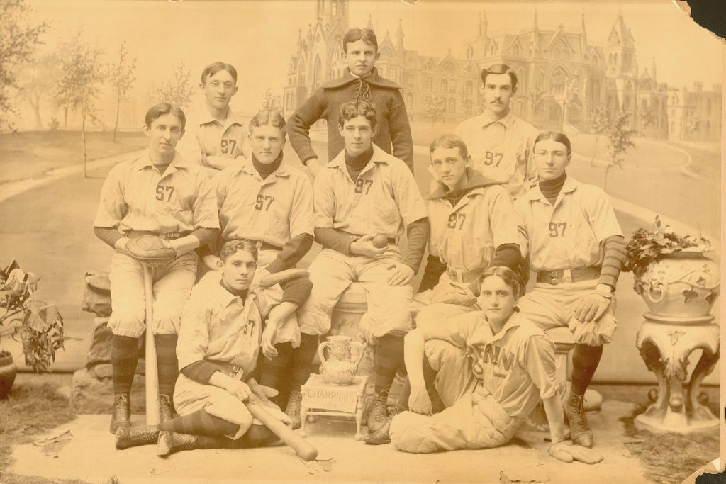 Champion junior baseball team, 1897