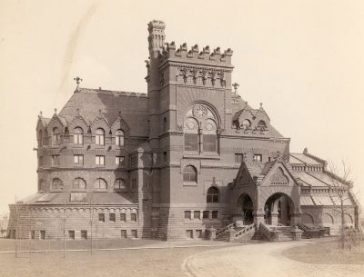 University Library (now Anne and Jerome Fisher Fine Arts Library), c. 1899