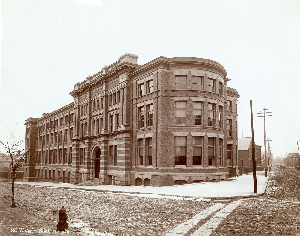 Wistar Institute of Anatomy, c. 1894