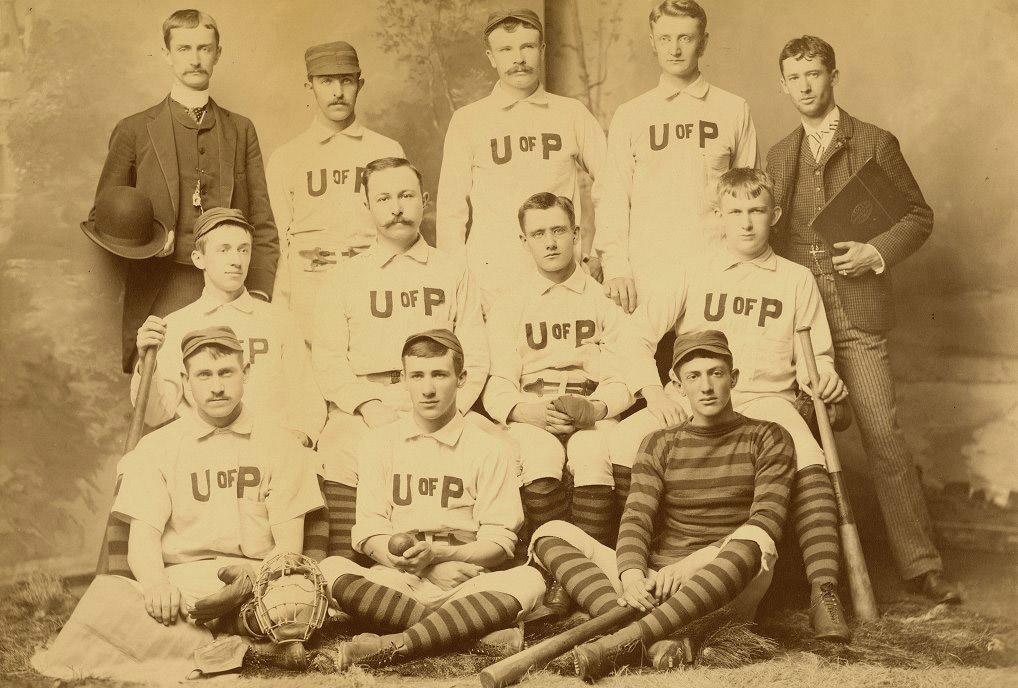 University Baseball Team, 1886