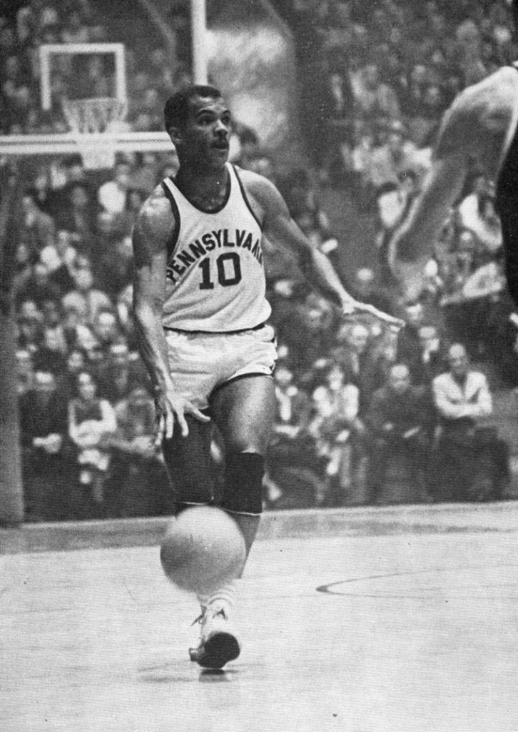 John Wideman with the ball, 1963