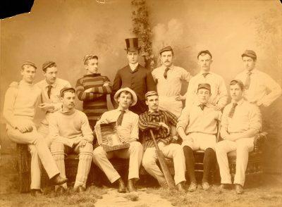 Cricket team, 1887