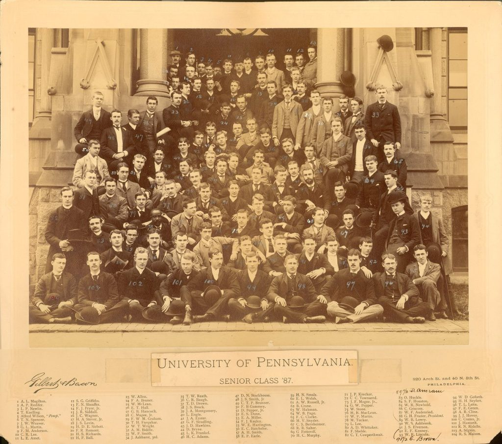 College Class of 1887