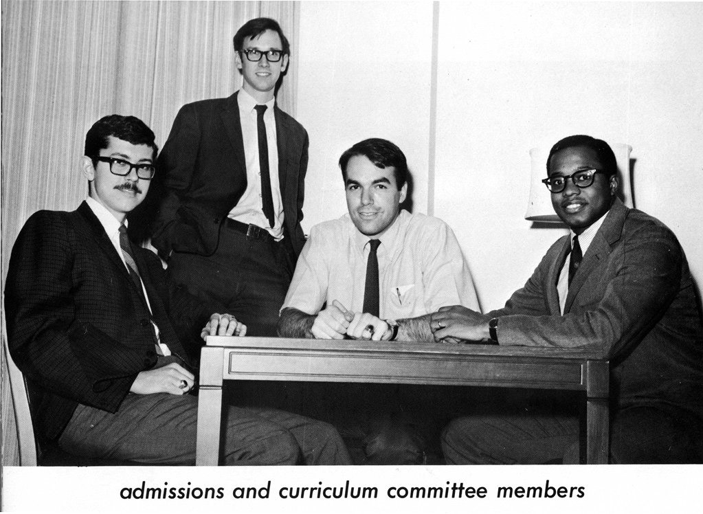 School of Medicine, admissions and curriculum committee members, 1969