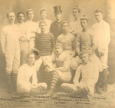 Football team, 1881