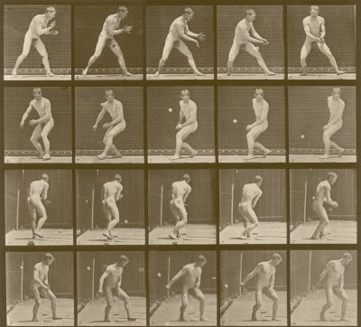 Eadweard Muybridge's Animal Locomotion, plate 288, c. 1887