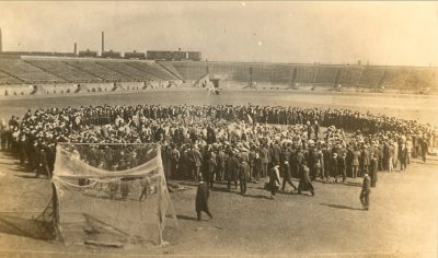 Bowl fight, 1908