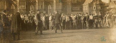 Bowl fight, 1909