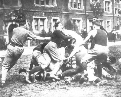 Bowl fight, 1914