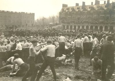 Bowl fight, 1905