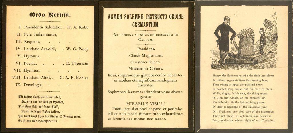 Cremation Program of 1883