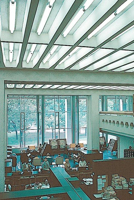 Charles Patterson Van Pelt Library, c. 1962