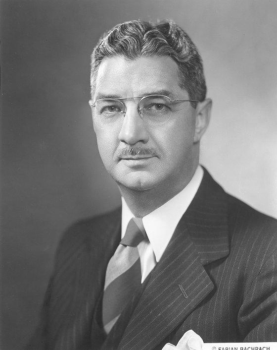 Edwin E. Aubrey, c. 1950