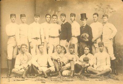 Football team, 1878