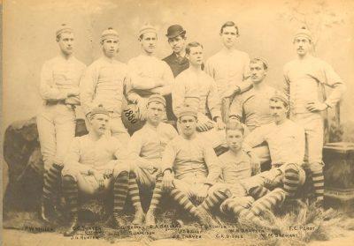 Football team, 1880