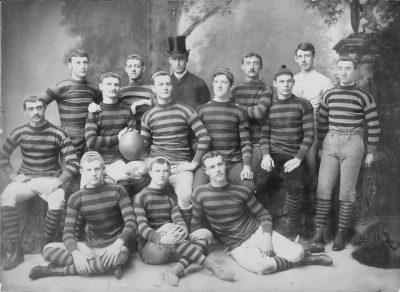 Football team, 1884
