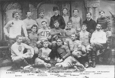 Football team, 1890