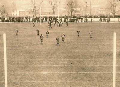 Football, Penn vs. Cornell, Thanksgiving Day, 1893