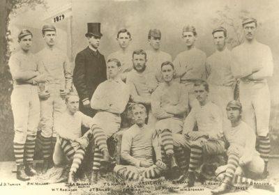 Football team, 1879