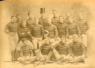 Football team, 1883