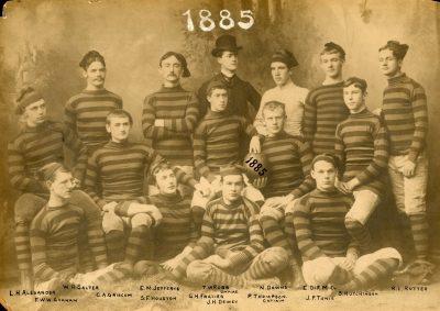Football team, 1885