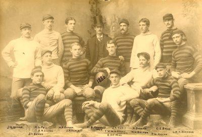 Football team, 1886