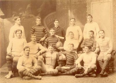 Football team, 1887