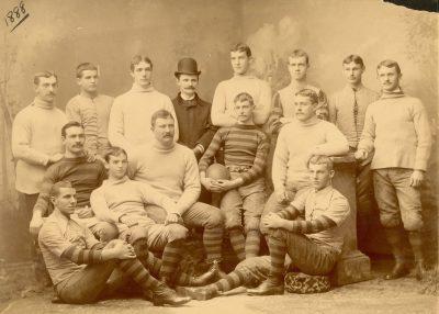 Football team, 1888