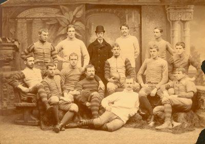 Football team, 1889