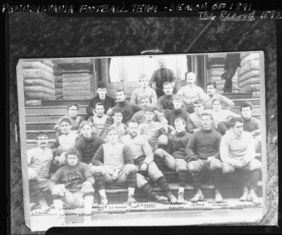 Football team, 1891