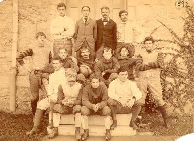 Football team, 1892