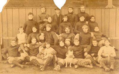 Football team, 1893