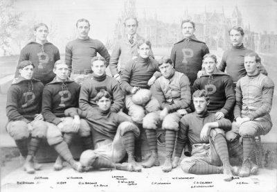 Football team, 1895