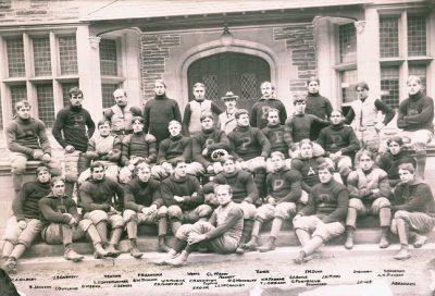 Football team, 1896