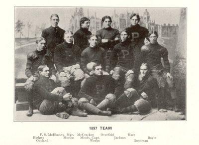Football team, 1897