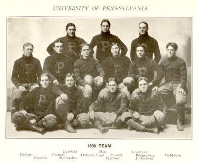 Football team, 1898