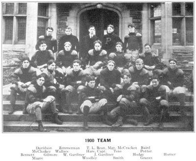 Football team, 1900