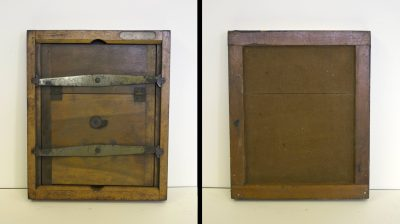 Contact printing frame, Eadweard Muybridge Collection, c. 1884