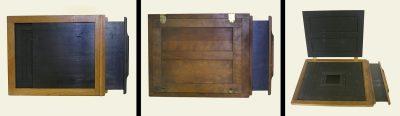 Dry plate holder, Eadweard Muybridge Collection, c. 1884