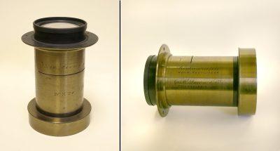 Lens, Jas. W. Queen & Co., Eadweard Muybridge Collection, c. 1884