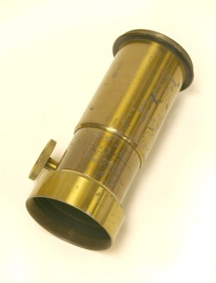 Lens, unmounted, Eadweard Muybridge Collection, c. 1884
