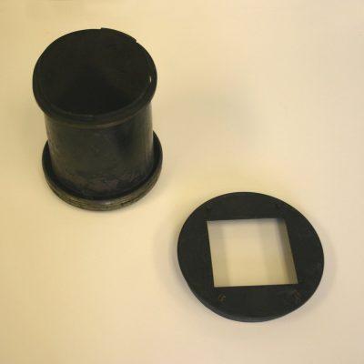 Lens holder, Eadweard Muybridge Collection, c. 1884