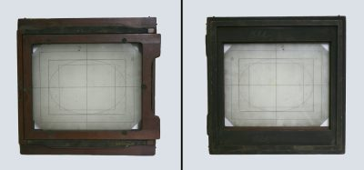 Panel with frosted glass, Eadweard Muybridge Collection, c. 1884