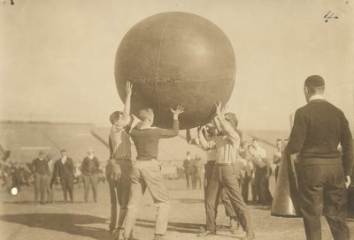 Push Ball Fight, 1909