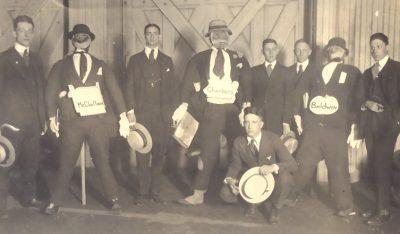 Sophomore Cremation, 1918