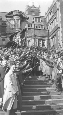 Cane March, Lower Quad, 1941