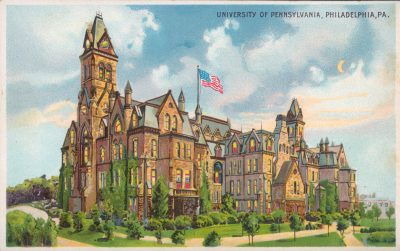 College Hall, 1903 Graphic