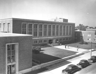 Dietrich Hall, c. 1955