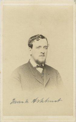 Francis Ashhurst, 1867