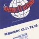Glee Club's 1973-1974 production, Americ-O-Round, poster